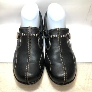 CLARKS, Comfort Slip-on with Stitch Accent